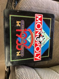 Vintage Monopoly Commemorative Edition board game La Grange, 78945
