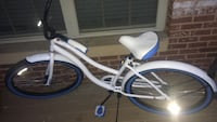 White and blue beach cruiser bike Arlington, 22203