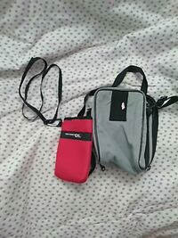 black and red leather crossbody bag Brownsville, 78521
