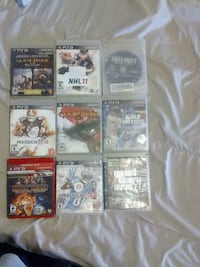 assorted Sony PS3 game cases Peterborough