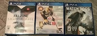 Sony PS4 NHL 15 game case