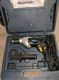 black and gray corded power drill Calgary, T2L