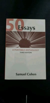 Book A Portable Anthology 3 ed. Union City, 07087