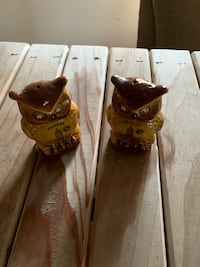 Owl salt and pepper shakers Hartly, 19953