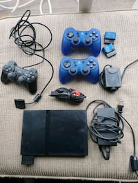 Ps2 game console collection