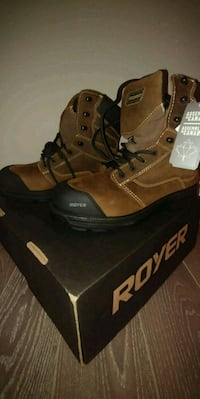 """(New in a box ) ROYER UNISEX 8"""" SAFETY BOOTS Mississauga, L5N 1L8"""