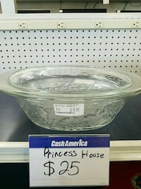 clear glass bowl with lid Houston, 77037