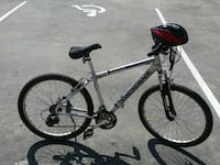 gray and black hardtail mountain bike Surrey, V3J 1S3
