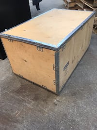 Wood storage crate Sioux Falls, 57103