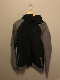 black and gray zip-up jacket Kitchener, N2A 3Z6