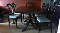 Dining Room set with sideboard mahogany TORONTO