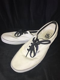 White Authentic Vans Oceanside, 92058