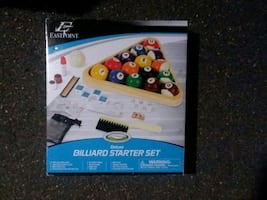 Brand New Deluxe Billiard Pool Set!!!