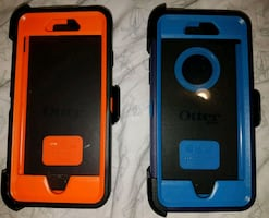 IPHONE 6/6S/7/8 OTTERBOX DEFENDER CASES $45 EACH