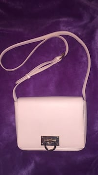 white leather 2-way bag Laval, H7K 1Y5