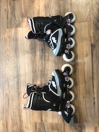 Youth girls roller blades