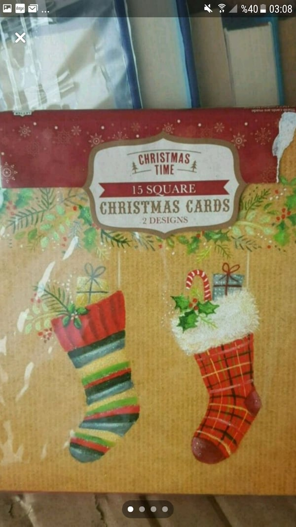 CHRİSTMAS YILBAŞI/ 15 CHRİSTMAS CARDS WITH ENVELOPS 23a39ce3-bff5-4995-aca0-38a2c29459a2