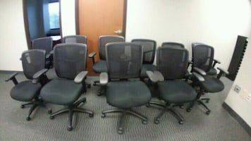 Office chairs 11 to sell $80 each