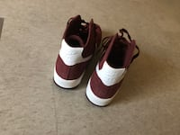 MAROON NIKE AIR FORCE 1S null