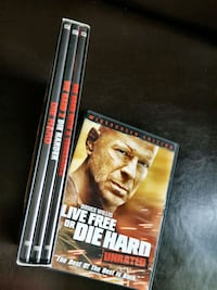 Die Hard 4 film DVD Collection Myerstown, 17067