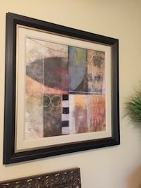 multicolored framed abstract paiting San Antonio, 78230