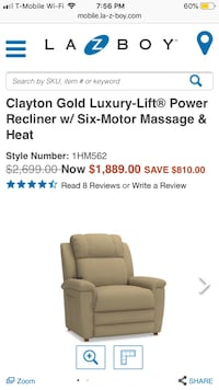 La-Z-Boy Power Recliner Silver Spring, 20904