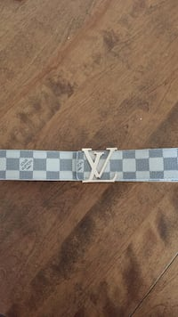 Damier Azur Louis Vuitton leather belt Halifax, B3S 1R5
