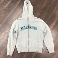 Nike Small Seattle Mariners Zip Up Hoodie Grey Vancouver, 98661