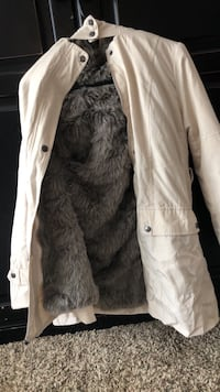 Faux Fur lined Coat 1803 mi