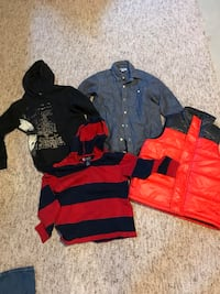Boys size 8 clothing