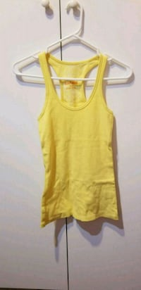 Garage Yellow Tank Top, Medium, Good Condition Vancouver, V5R