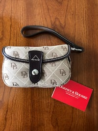 Dooney & Bourke Small Flap Wristlet - New