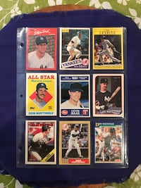 9 New York Yankees Baseball Cards Calgary, T2M 2P2