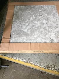 Tile 24x24 Travertine silver  Good indoor and outdoor .14 box in lot