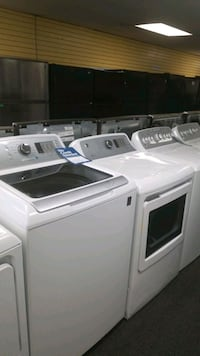 GE new scratch and dent washer and electric dryer  Randallstown