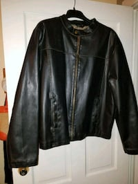 Bikers Brown Leather jacket Brownsville