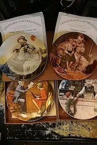 Norman Rockwell collector plates  Toronto, M4C 2L8