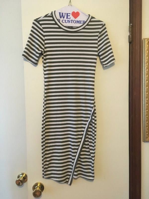 Casual Form-fitting Dress