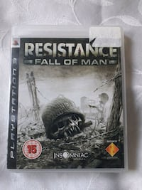 Resistance fall of man PS3 game  London
