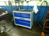 blue and gray tool cabinet Hammond, 46327