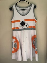 Womens size large Star wars BB8 dress