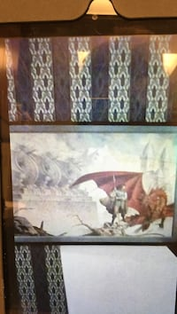 red dragon poster Clarkson Valley, 63011