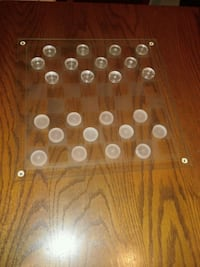 Glass Checkers Set Game Lancaster, 17601