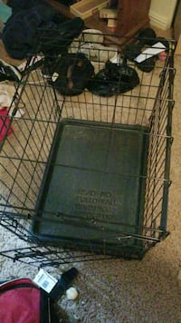 black metal folding dog crate Portland, 97233