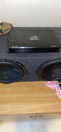 Rockford 12s And Amplifier