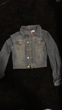 Cropped jean jacket Vancouver
