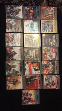 assorted Sony PS3 game cases Bradford, BD3