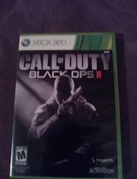 Call of Duty Black Ops 2 Xbox 360 game case Springfield, 65803