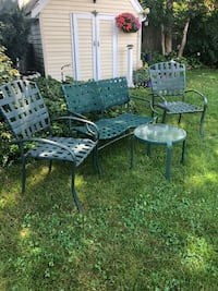 4 piece outdoor set, sturdy and  durable  Selden, 11784