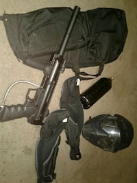 Paintball gear and paintball gun look at discrib. Ladson, 29456